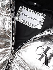 Calvin Klein - SILVER PUFFER LONG COAT - dunjakker & forede jakker - silver metallic - 4