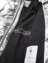 Calvin Klein - SILVER PUFFER LONG COAT - dunjakker & forede jakker - silver metallic - 8
