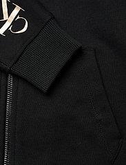 Calvin Klein - LOGO EMBROIDERY ZIP THROUGH - kapuzenpullover - ck black - 3