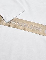 Calvin Klein - FOIL LOGO SLIM LS T-SHIRT - langärmelig - bright white - 2