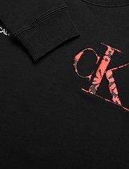 Calvin Klein - RAISED MONOGRAM SWEATSHIRT - sweatshirts - ck black - 2