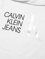 Calvin Klein - HYBRID LOGO HOODIE - kapuzenpullover - bright white - 2