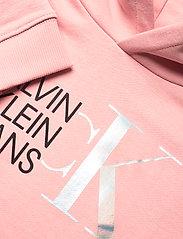 Calvin Klein - HYBRID LOGO HOODIE - kapuzenpullover - sand rose - 2