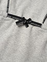 Calvin Klein - SHORT DRESS WITH PIPING DETAIL - kleider - light grey heather - 3