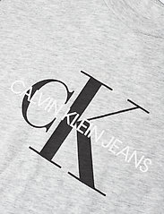 Calvin Klein - MONOGRAM LOGO T-SHIRT - korte mouwen - light grey heather - 2