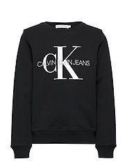 MONOGRAM LOGO SWEATSHIRT - CK BLACK