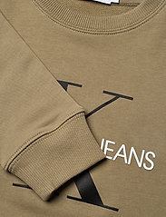 Calvin Klein - MONOGRAM LOGO SWEATSHIRT - sweatshirts - olive khaki - 2