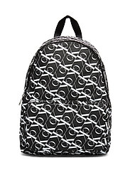MIRRORED M CAMPUS BACKPACK 40 - BLACK BEAUTY