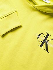Calvin Klein - SMALL MONOGRAM HOODIE - kapuzenpullover - yellow lime - 2