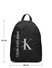 Calvin Klein - HYBRID LOGO BACKPACK - rucksäcke - ck black - 5