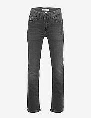 Calvin Klein - SLIM - ATH WASH BLACK STR - jeans - athletic wash black stretch - 0