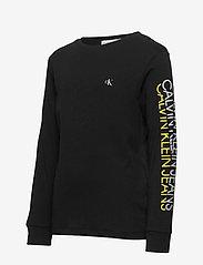 Calvin Klein - REPEAT LOGO LS T-SHIRT - lange mouwen - ck black - 2