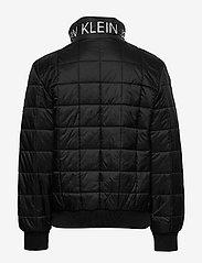 Calvin Klein - SQUARE QUILT LIGHT JACKET - dunjakker & forede jakker - ck black - 1