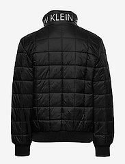 Calvin Klein - SQUARE QUILT LIGHT JACKET - puffer & padded - ck black - 1
