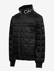 Calvin Klein - SQUARE QUILT LIGHT JACKET - dunjakker & forede jakker - ck black - 2