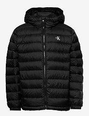 Calvin Klein - LIGHT DOWN JACKET - dunjakker & forede jakker - ck black - 0