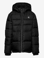 Calvin Klein - ESSENTIAL PUFFER JACKET - dunjakker & forede jakker - ck black - 1