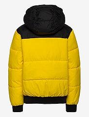 Calvin Klein - COLOUR BLOCK PUFFER JACKET - puffer & padded - bold yellow - 2