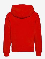 Calvin Klein - REFLECTIVE LOGO HOODIE - hoodies - fierce red - 1