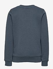 Calvin Klein - LOGO CHEST BOX SWEATSHIRT - sweatshirts - orion blue - 1