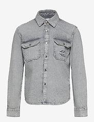 Calvin Klein - CLOUD WASHED SHIRT - hemden - asphalt grey - 0