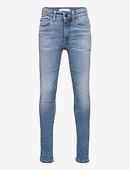 Calvin Klein - SUPER SKINNY INFINITE LT BL STR - jeans - infinite light blue stretch - 0