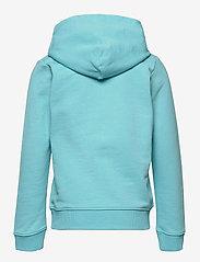 Calvin Klein - HYBRID LOGO HOODIE - kapuzenpullover - bright sky - 1