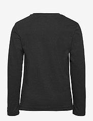 Calvin Klein - SMALL INSTITUTIONAL LS T-SHIRT - langärmelig - ck black - 1
