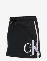 Calvin Klein - MONOGRAM STRIPE KNIT - spódnice - ck black - 2