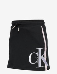 Calvin Klein - MONOGRAM STRIPE KNIT - rokjes - ck black - 2