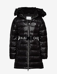 Calvin Klein - ESSENTIAL DOWN LONG COAT - puffer & padded - ck black - 0