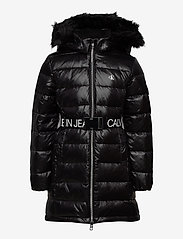 Calvin Klein - ESSENTIAL DOWN LONG COAT - puffer & padded - ck black - 1