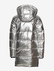 Calvin Klein - SILVER PUFFER LONG COAT - dunjakker & forede jakker - silver metallic - 3