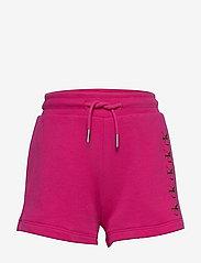 Calvin Klein - CK REPEAT FOIL KNIT SHORTS - shorts - hot magenta - 0