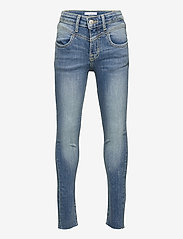 Calvin Klein - SKINNY HR AUTH BL HL STR - jeans - authentic high low stretch - 0
