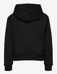 Calvin Klein - MONOGRAM APPLIQUE HOODIE - hoodies - ck black - 1