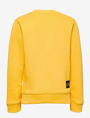 Calvin Klein - INSTITUTIONAL SWEATSHIRT - sweatshirts - warm yellow - 1
