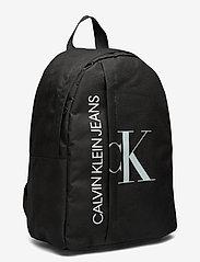 Calvin Klein - HYBRID LOGO BACKPACK - rucksäcke - ck black - 2