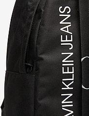 Calvin Klein - HYBRID LOGO BACKPACK - rucksäcke - ck black - 3