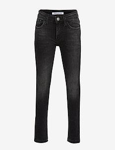 TAPERED LOGO TAPE WASH RIGID - jeans - logo tape wash rigid