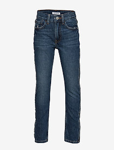 SKINNY RICKETY BLACK STRETCH - jeans - rickety black stretch