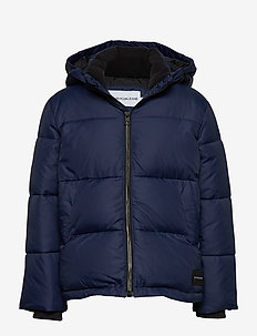 ESSENTIAL PUFFER JACKET - puffer & padded - peacoat
