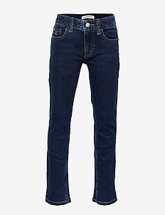 SLIM ESSENTIAL DARK BL STR - jeans - essential dark blue stretch