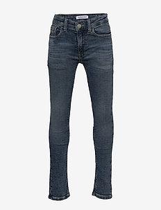SKINNY - ATH GLARE B - jeans - athletic glare blue stretch