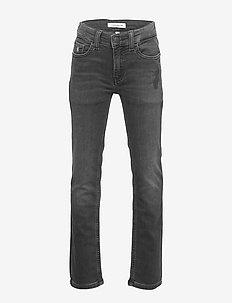 SLIM - ATH WASH BLACK STR - jeans - athletic wash black stretch