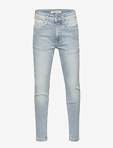 TAPERED LUSTER LIGHT - jeans - luster light blue stretch