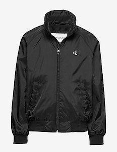 ESSENTIAL LIGHT JACK - windbreaker jassen - ck black