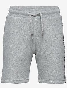 HERO LOGO SWEATSHORT - shorts - light grey heather