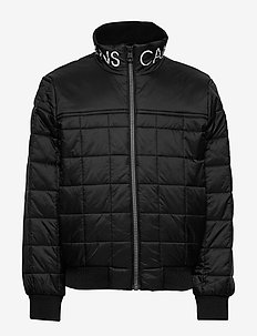 SQUARE QUILT LIGHT JACKET - puffer & padded - ck black
