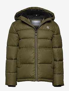 ESSENTIAL PUFFER JACKET - puffer & padded - grape leaf